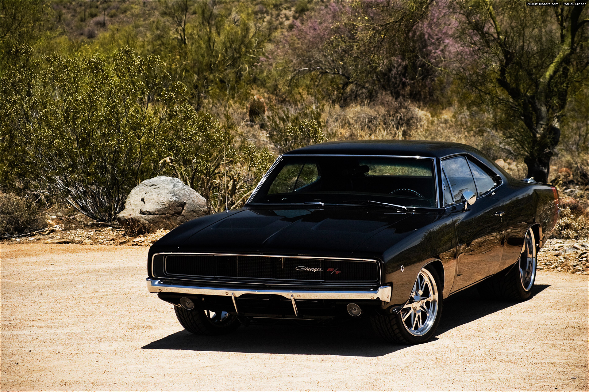 Heatstroke 1968 Dodge Charger Desert Motors Com