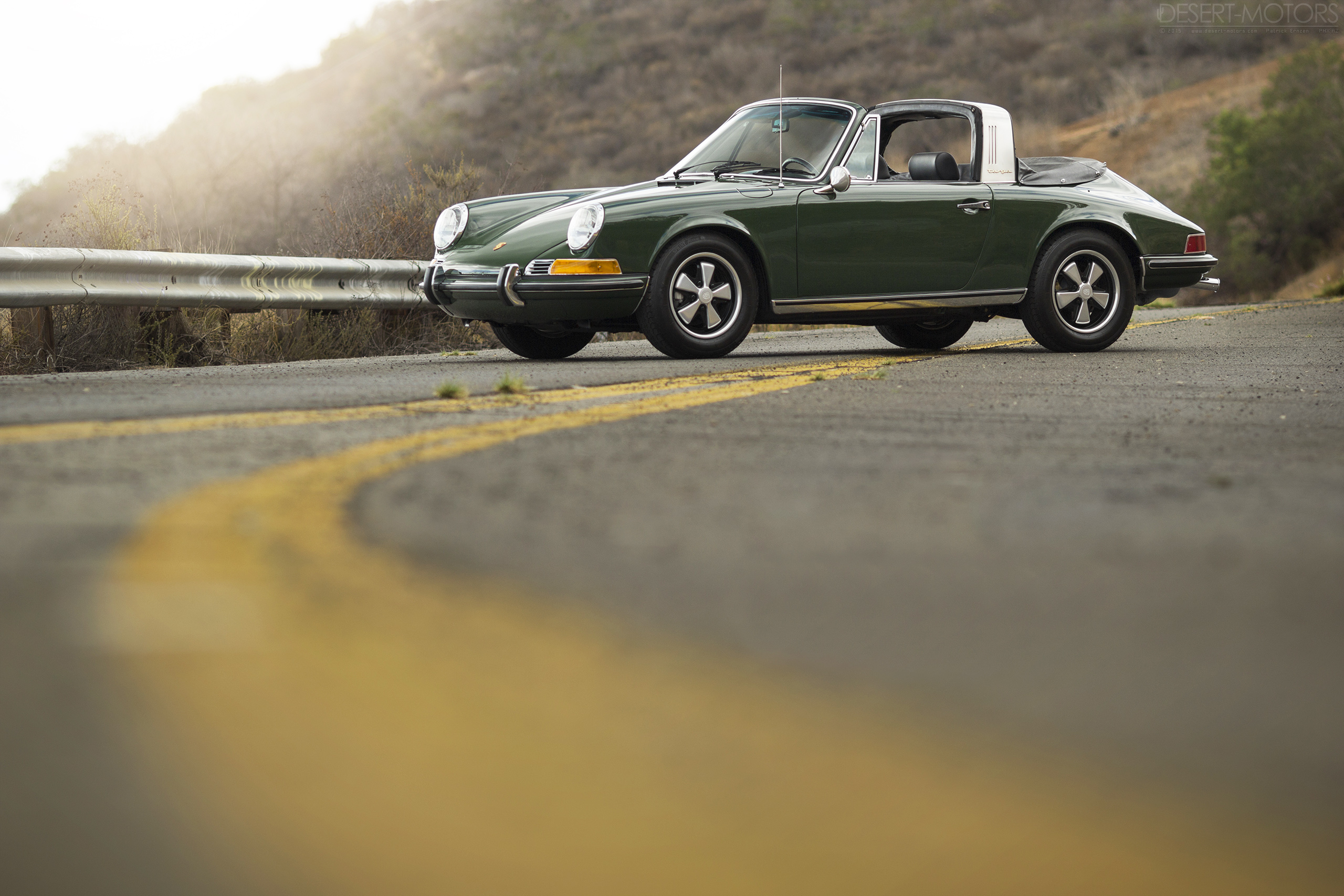 1969 Porsche 911 S Soft Window Targa Desert Motors Com