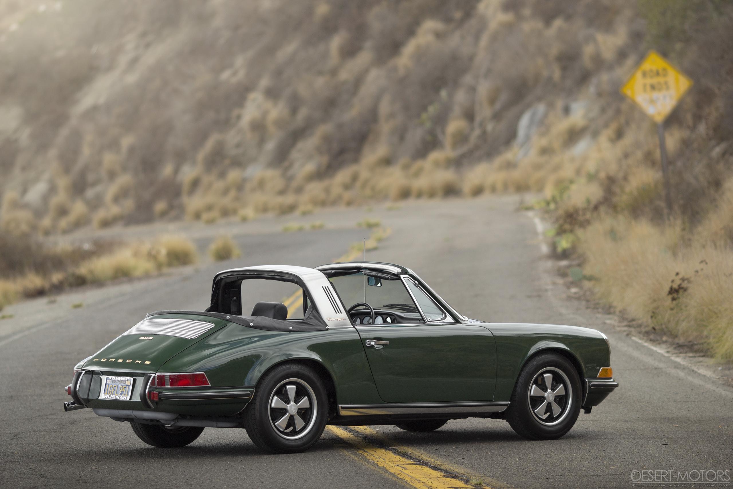1969 Porsche 911 S Soft Window Targa Desert Motors Com