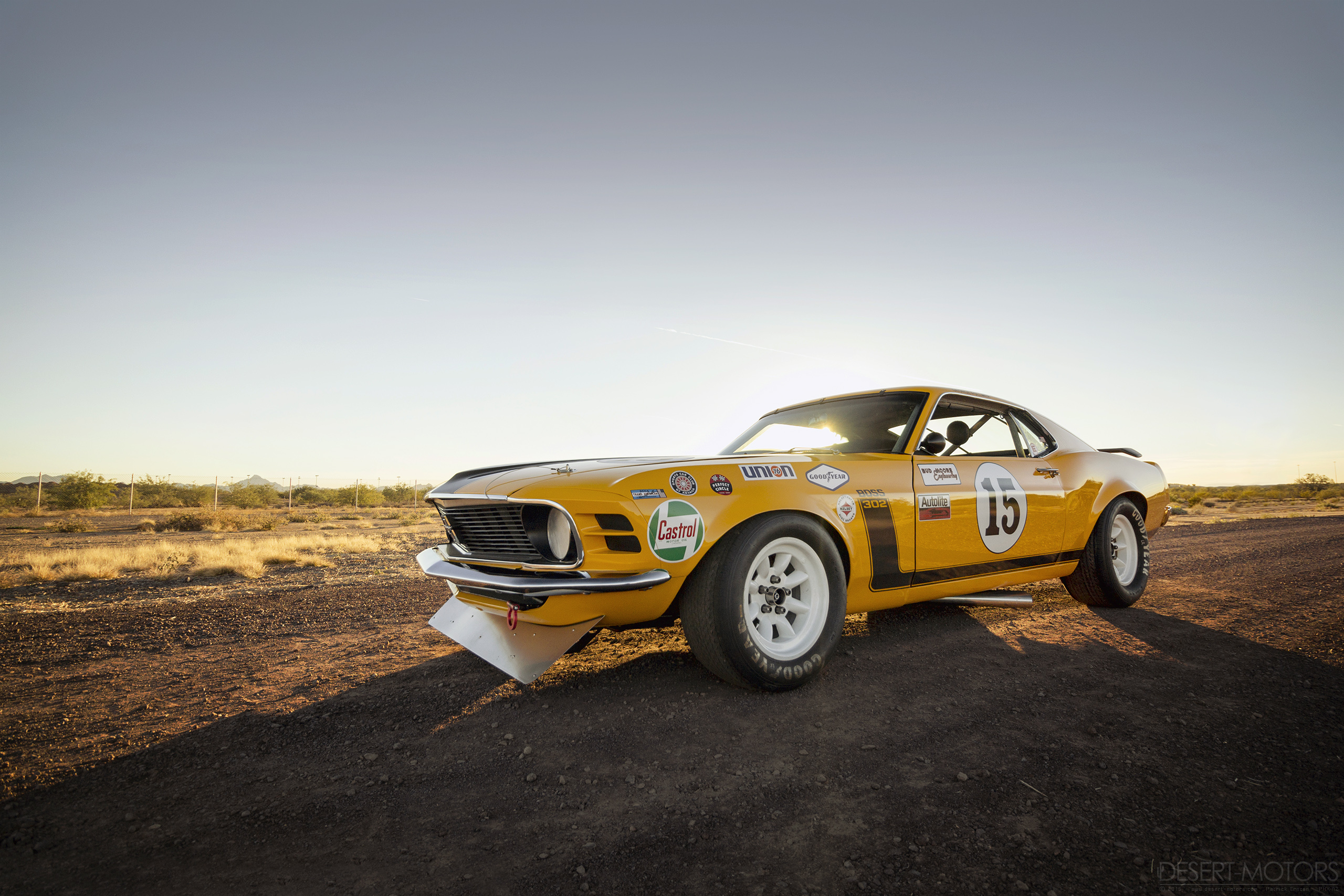 1970 Ford Mustang Boss 302 Kar Kraft Trans Am Desert