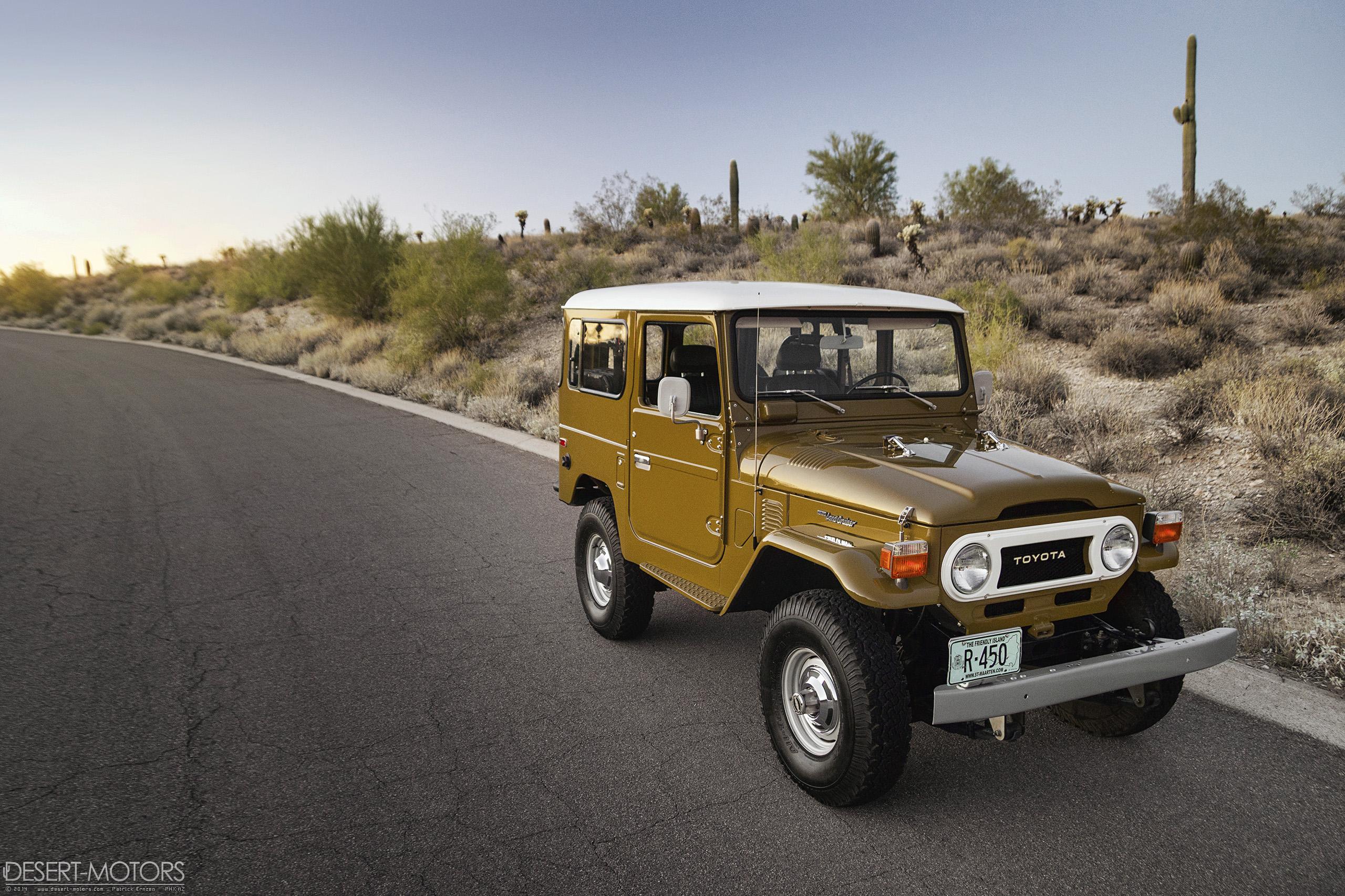 Record Breaker 77 Fj40 Desert Motors Com