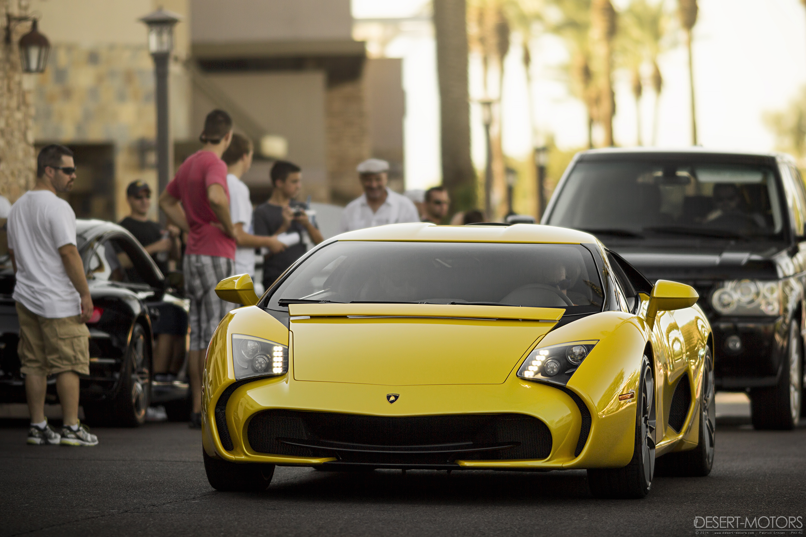 Lamborghini Gallardo 5-95 Zagato at CnC   Desert-Motors.com