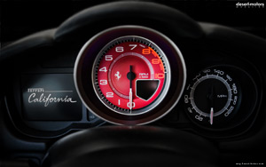 2010 Ferrari California Interior Wallpaper