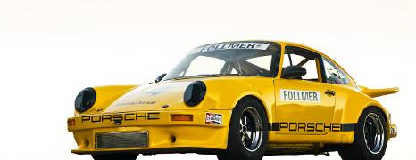 1973 Porsche 911 RSR IROC Race Car