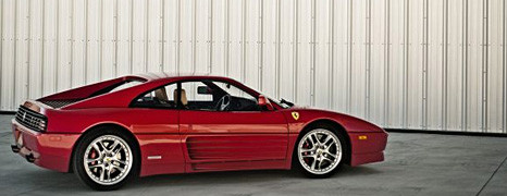 1992 Ferrari 348 TB Through Three Lenses