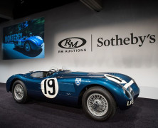 RM Sotheby's Sets New Collector Car Auction Benchmark with $172.9 Million Monterey Extravaganza
