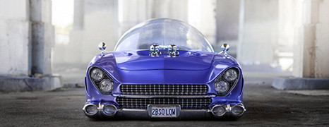 "1955 Ford ""Beatnik Bubbletop"" Custom"