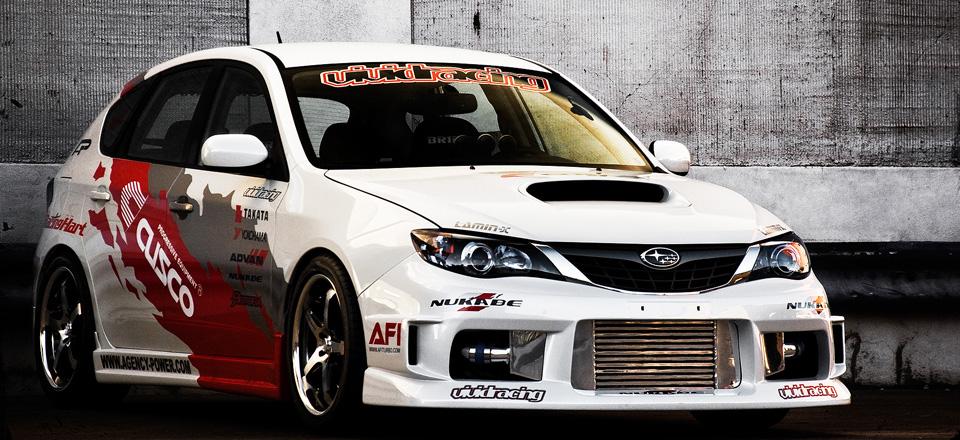 2008 Vivid Racing Subaru WRX