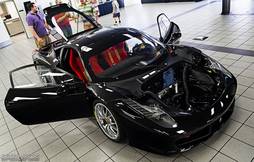 Ferrari F12 Black Interior